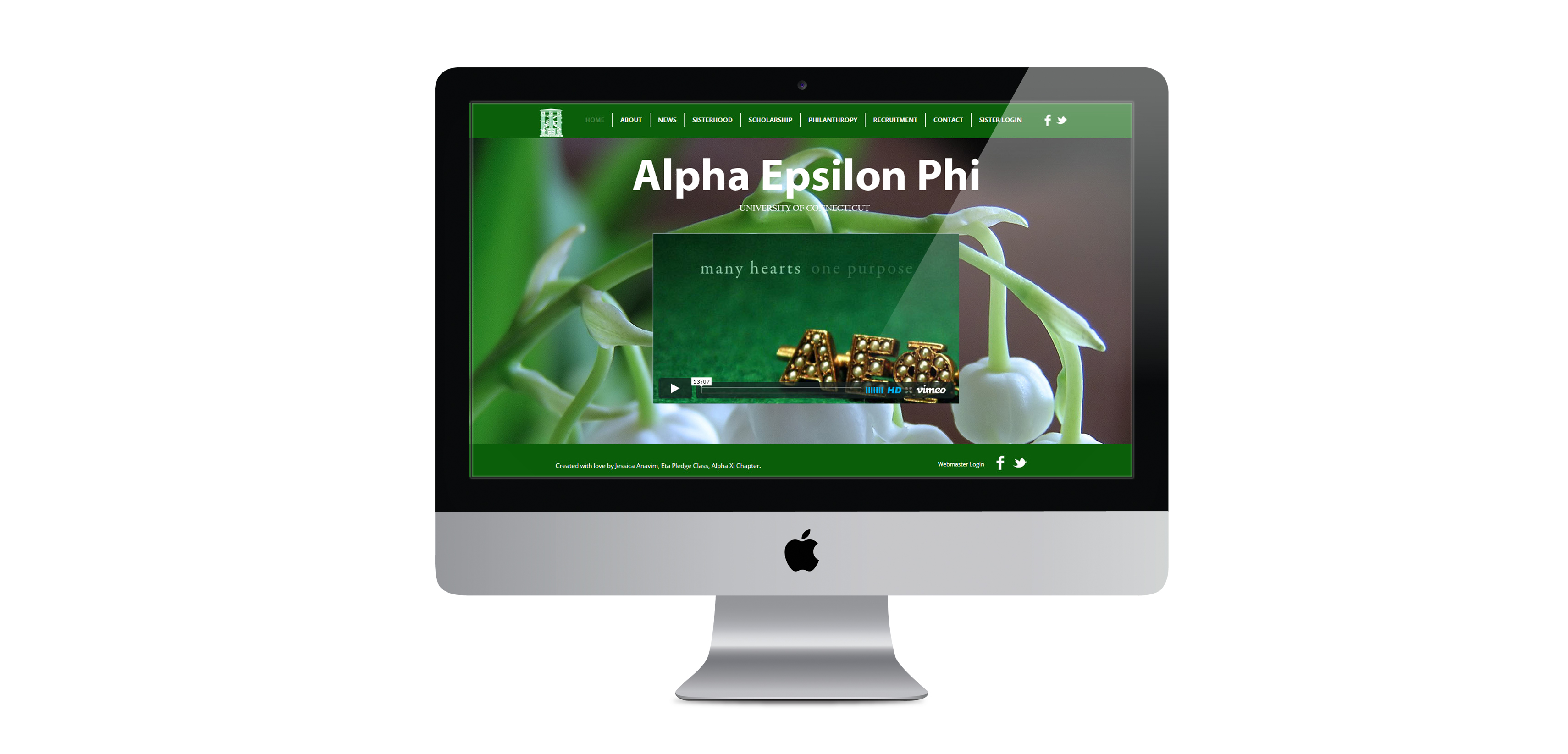 AEPhi Website Redesign