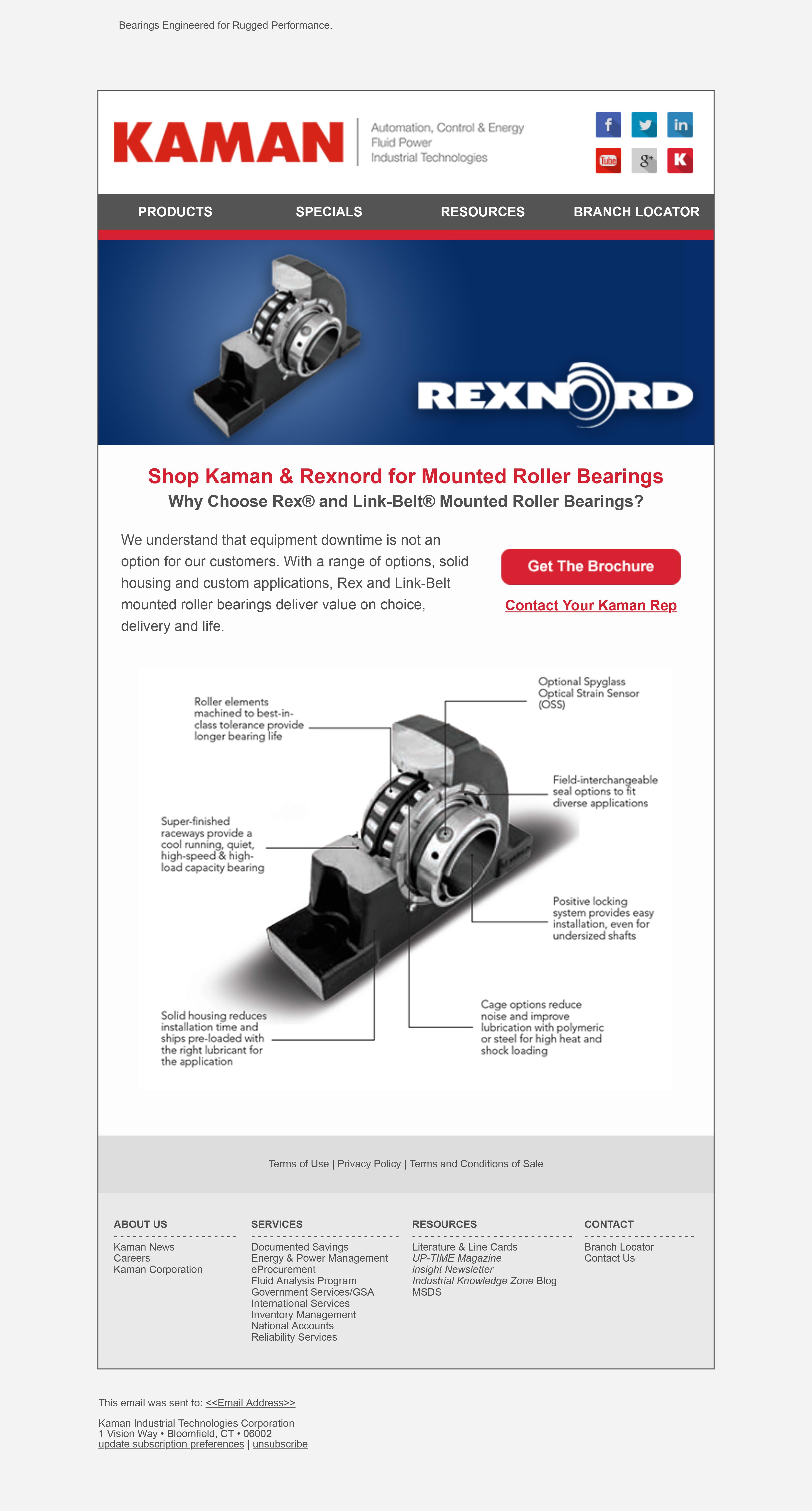 Rexnord Bearings