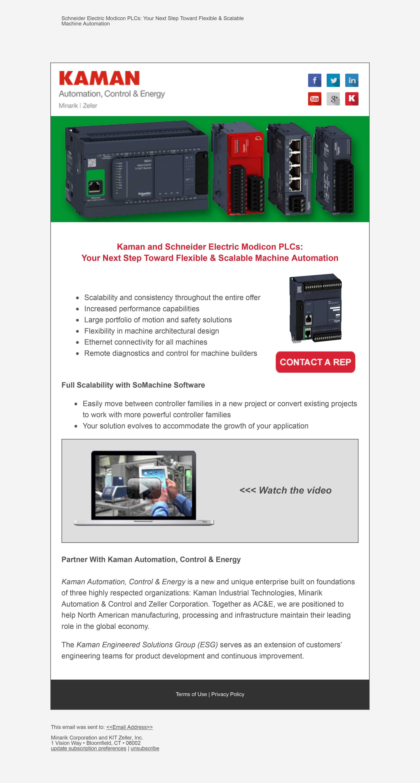 Kaman Distribution Email Marketing | Jessica Anavim