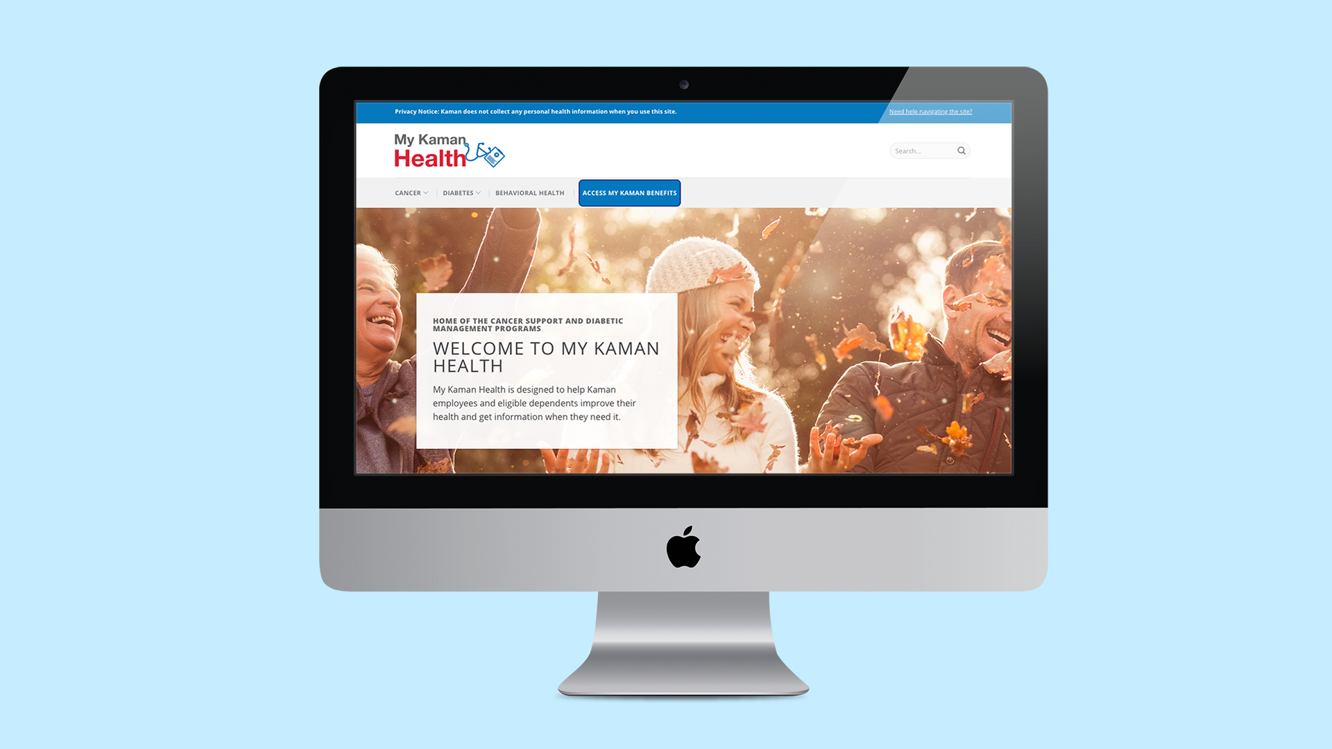 My Kaman Health Website